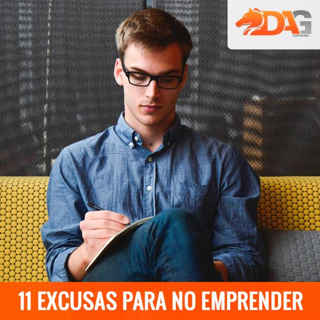 11 Excusas para no Emprender